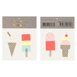 Meri Meri | Ice Creams Tattoos