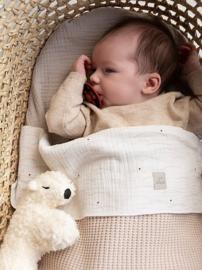 Nanami | Baby Blanket | Rib | Natural