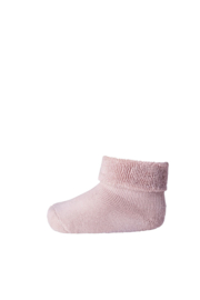 MP Denmark | Ankle Cotton Plain Socks | 870 Rose Grey
