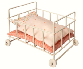 Maileg | Metal Baby Cot | Micro