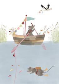 Getekenddoorzusje | Fishermice