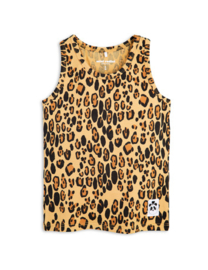 Mini Rodini basic Leopard tank top Beige
