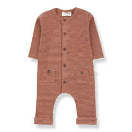 1+ in the Family | Hudson Jumpsuit | Toffee - Terrau