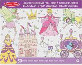 Melissa & Doug I Jumbo Kleurboek I Princessen