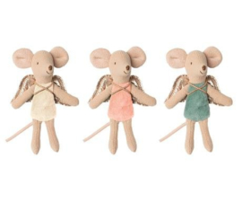 Maileg | Fairy Mouse | Little Sisters | Off white