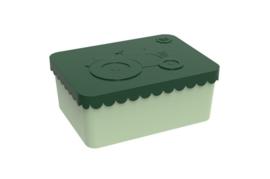 Blafre Lunchbox 'Tractor' dark green
