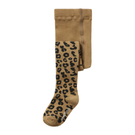 Maed for Mini | Tights | Brown Leopard