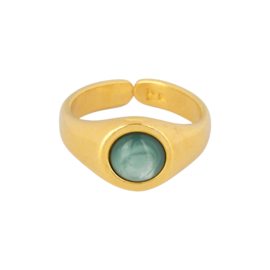 & Anne | Ring Green
