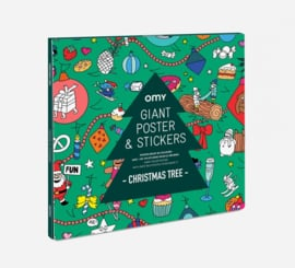 OMY | Giant Christmas Poster with stickers