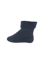 MP Denmark | Ankle Cotton Plain Socks | 142 Indigo Blue