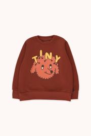 Tiny Cottons | Tiny Dog Sweatshirt | Dark Brown - Sienna