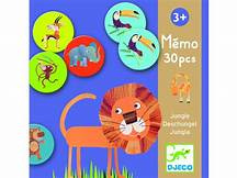 Djeco | Educational games | Memo jungle