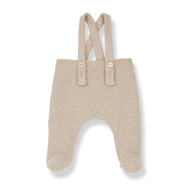 1+ in the Family | Remi Overall with Feet | Cream
