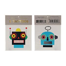 Meri Meri | Robot Tattoos
