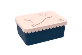 Blafre Lunchbox Puffin Peach