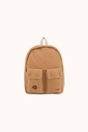 Tiny Cottons | Tiny Dog Big Sherpa Backpack | Camel