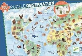 Djeco | Puzzle Observation | Animal