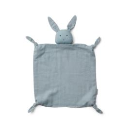 Liewood | Agnete Cuddle Cloth | Rabbit | Sea Blue
