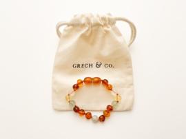 Grech & Co   Baltic Amber   Children's Bracelet   Willow