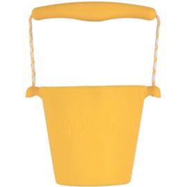 Scrunch | Bucket | Buttercup yellow