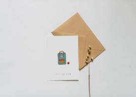 Kaart | Nadine Illustraties | You'll rock boy