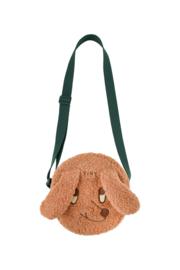 Tiny Cottons | Tiny Dog  Sherpa Bag | Brown