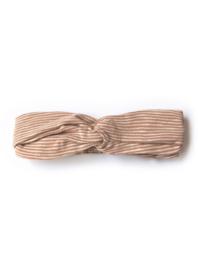 Phil & Phae | Rip Headband | Sand Stripe
