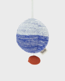 Ferm Living ' ball knitted music mobile' blue
