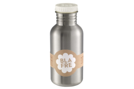 Blafre 'Steel Bottle' 500ml wit
