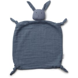 Liewood | Agnete Cuddle Cloth | Rabbit | Blue Wave