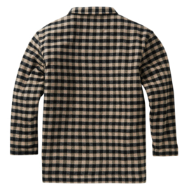 Mingo | Flannel Checked Shirt | Caramel / Black