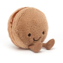 Jellycat | Amuseable Macaron | Chocolate