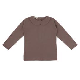 Phil & Phae | Collar Tee Long Sleeve | Heather