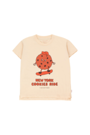 Tiny Cottons | Cookie Ride Tee | Cream - Brown