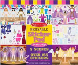 Melissa & Doug  I Stickerboek met herbruikbare stickers I Verkleden Ballerina
