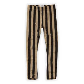 Sproet & Sprout | Pants Painted Stripe | Black - Nougat