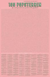 Stratier | XL Spelposter | 100 Popsterren