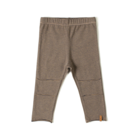 Nixnut | Tight Legging | Olive Stripe