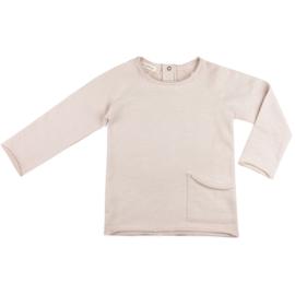 Phil & Phae | Raw-Edged Sweater | Oatmeal