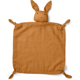 Liewood | Agnete Cuddle Cloth | Rabbit | Mustard