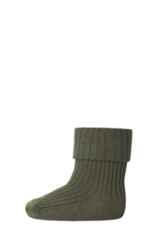MP Denmark | Anklesock 2/2 Pad Baby | 3033 Army