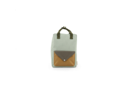 Sticky Lemon | Backpack Large | Sprinkles | Envelope | Sage Green + Moss Green