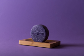 HappySoaps | Shampoo Bar | Purple Rain |  Zilver Shampoo
