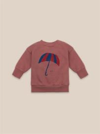 BoboChoses | Umbrella Sweatshirt | Mahogany