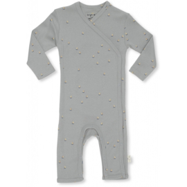 Konges Sløjd | New Born Onesie Deux | Mille Marine - French Blue