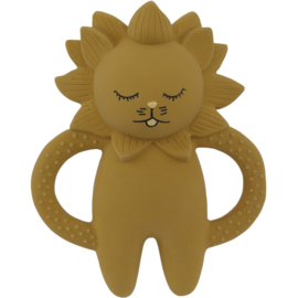 Konges Sløjd | Teeth Soother Lion | Mustard