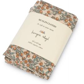 Konges Sløjd | Muslin Cloth  | 3 Pack | Orangery Beige