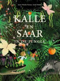Kallie en Saar in de jungle