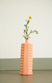 Foekje Fleur   Porcelain Bottle Vase #10   Orange