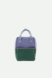 Sticky Lemon | Backpack Small | Colourblocking | Moustafa Purple